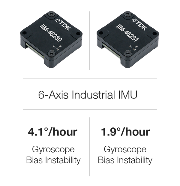 TDK announces fault tolerant motion sensing product family for industrial applications
