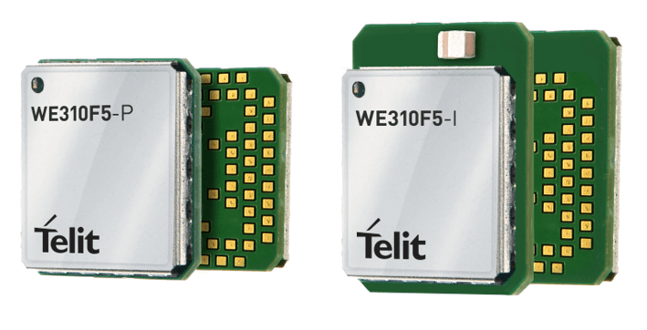 Telit's WE310F5 Combination Wi-Fi and Bluetooth Low Energy Module