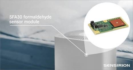 Formaldehyde Sensor Module for HVAC and Indoor Air Quality Applications