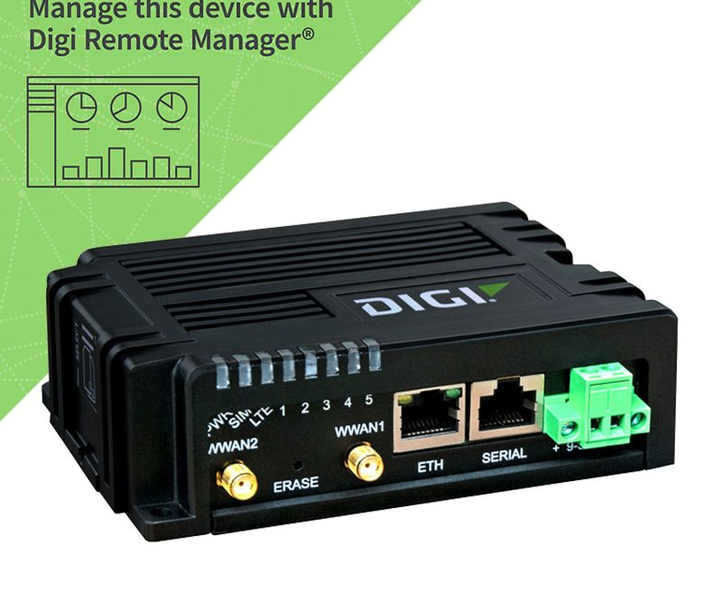 Digi's new Cat-1 version of their new Rugged IX10 routers