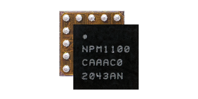 Ultra-small form-factor Power Management IC (PMIC) for charging batteries and power delivery